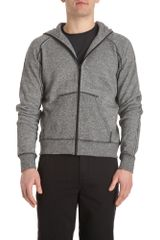 T By Alexander Wang Zip Up Hoodie - Lyst