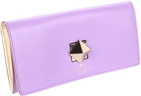 Kate Spade New York New Bond Street Cyndy Wallet in Purple (hydrangea) - Lyst