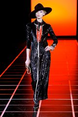 Giorgio Armani Fall 2012 Black Sequined Jumpsuit in Black - Lyst