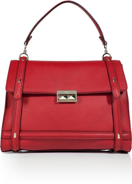 Valentino Tomato Rock Stud Bag in Red (tomato) - Lyst