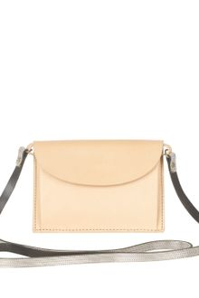 Acne Stella Mini Leather Shoulder Bag - Lyst