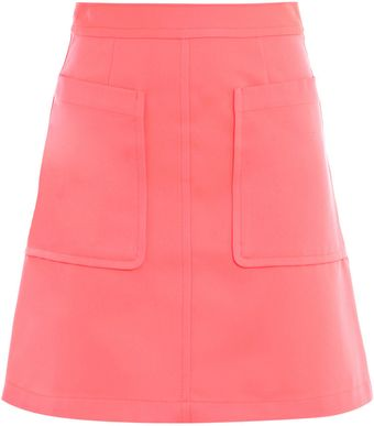 Marc By Marc Jacobs Neon A-line Skirt - Lyst