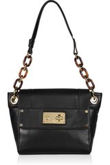 Milly Mina Chain-strap Leather Shoulder Bag - Lyst