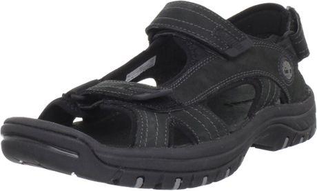 Timberland Mens Chocorua Casual Sandal In Black For Men