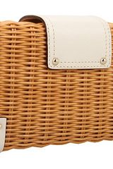 Kate Spade New York Delavan Terrace Delora Clutch in Beige (n) - Lyst