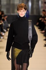 Balenciaga Fall 2012 Black Turtleneck Long Sleeve Top - Lyst