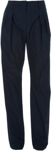 Balenciaga Tailored Trouser in Blue - Lyst