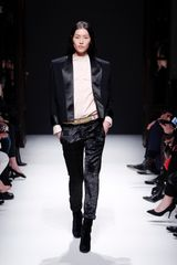 Balmain Fall 2012 Printed Skinny Pants In Black  - Lyst