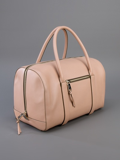 Chlo¨¦ Madeleine Duffel Bag in Pink (black) | Lyst