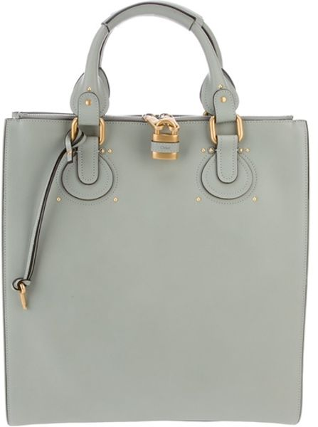 Chloé Aurore Tote in Green
