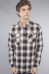 Comune The Wynford Buttondown Shirt in Egg - Lyst