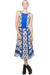 Rag & Bone Clement Dress in Lama Print - Lyst