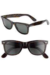 Ray-Ban Classic Polarized Wayfarer Sunglasses - Lyst