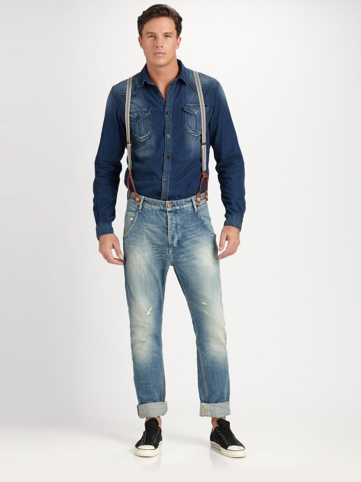 Skinny Stretch Jeans For Men