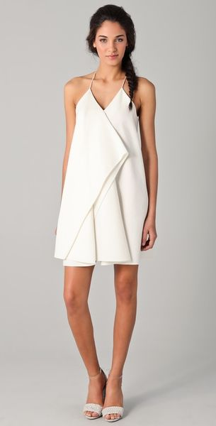 3.1 Phillip Lim Collapsed Kite Dress in Beige (white) - Lyst