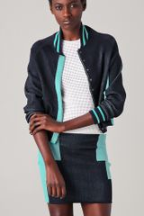 Alexander Wang Engineered Track Suit Bomber Jacket - Lyst