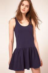 ASOS Collection Asos Mini Dress with Pockets - Lyst