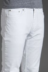 Blk Dnm Jeans 5 in White for Men (astr white) - Lyst