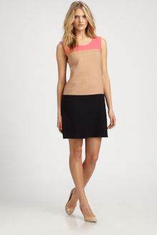DKNY Colorblock Dress - Lyst