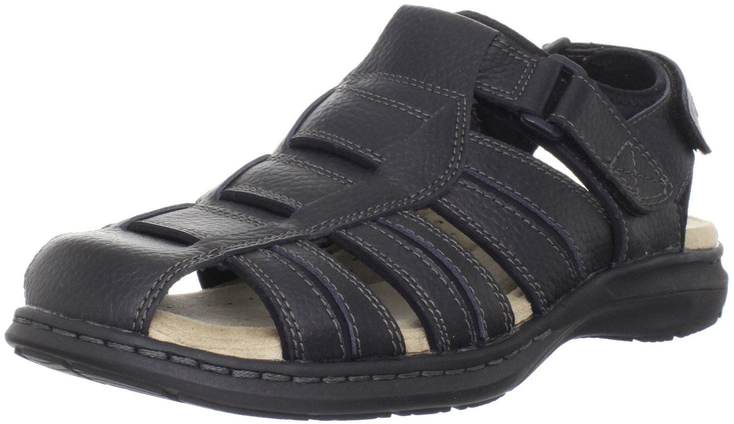 Dockers Mens Fulton Fisherman Sandal In Black For Men Lyst
