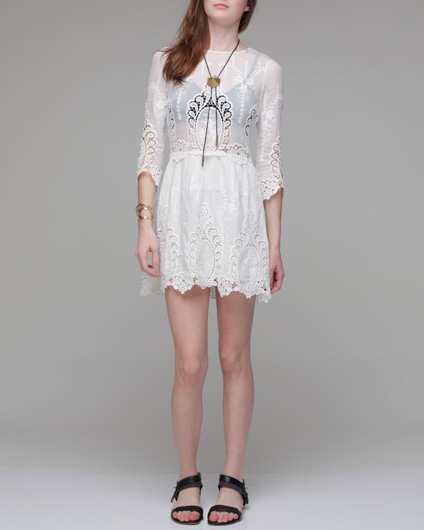 Lyst - Dolce Vita Valentina Petticoat Embroidery Long