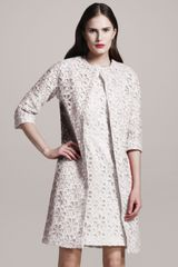 Giambattista Valli Sangallo-lace Coat - Lyst