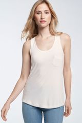 Holistia Modal & Spandex Tank with Pocket Detail - Lyst