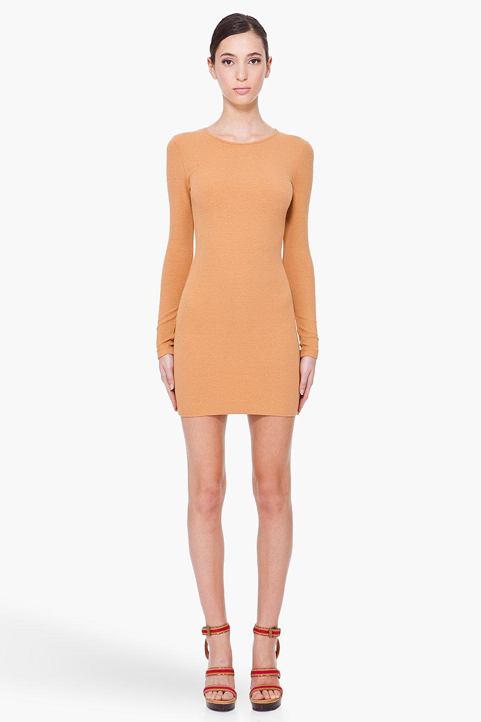 kimberly ovitz aisu dress in orange lyst
