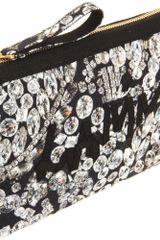Lanvin Gems Pochette in Black - Lyst