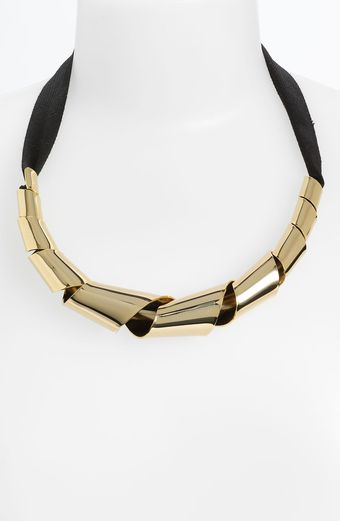 Marc By Marc Jacobs Metal Ribbons Big Twist Necklace - Lyst