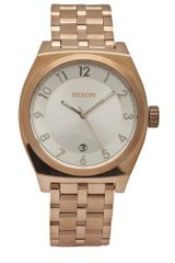 Nixon Monopoly Watch in Gold (rose) - Lyst
