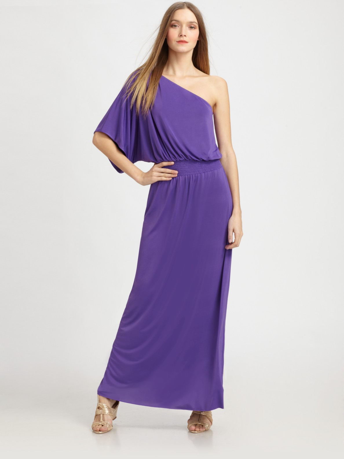 Long Purple Maxi Dresses