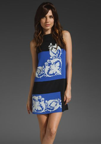 Tibi Runway Cameo Shift Dress - Lyst