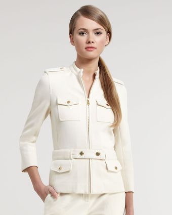 Tory Burch Havelil Military Jacket - Lyst