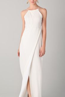 Yigal Azrouel Slit Gown with Open Back - Lyst