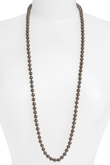 Givenchy Kalahari Pearl Long Necklace - Lyst