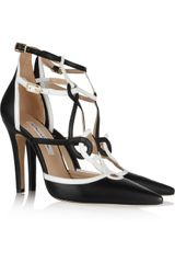 Oscar de la Renta Marlene Leather Pumps - Lyst