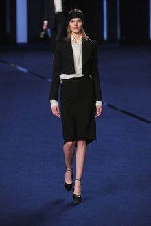 Sonia Rykiel Fall 2012 Long Sleeve Formal Shirt in Peach - Lyst