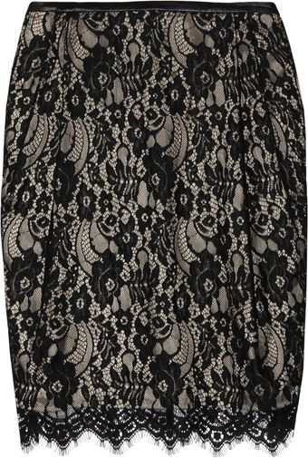 By Malene Birger Cleva Lace Skirt - Lyst