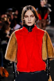 Givenchy Fall 2012 Turtleneck Blouse - Lyst