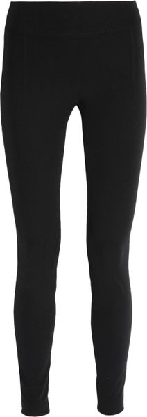 Helmut Lang Reflex Stretchjersey Leggings in Black - Lyst