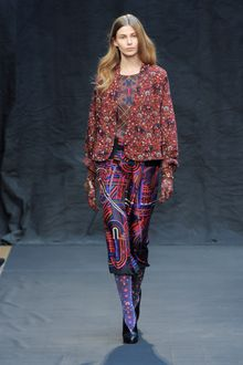 Hermes Fall 2012 Printed Skirt - Lyst