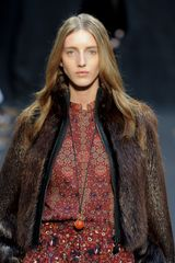 Hermes Fall 2012 Fur Jacket in Brown - Lyst