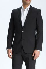 Hugo Astro Hill Black Check Wool Suit - Lyst