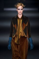 John Galliano Fall 2012 Brown Cropped Jodhpurs in Brown - Lyst