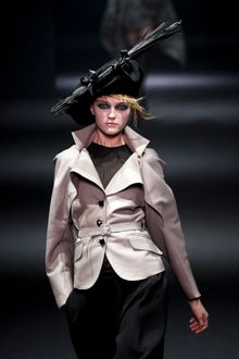 John Galliano Fall 2012 Tailored Jacket  - Lyst