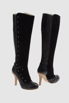 John Galliano Highheeled Boots - Lyst
