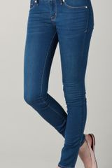 Marc By Marc Jacobs Stick Skinny Jeans in Blue - Lyst