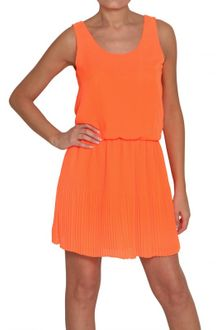 Space Pleated Chiffon Fluo - Lyst