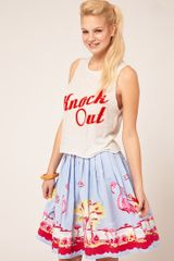 ASOS Collection Asos T-shirt with Knock Out - Lyst